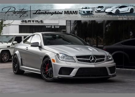 2012 Mercedes Benz C63 Amg Black Series Luxury Cars For Sale