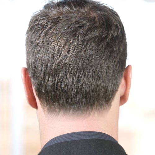Blocked Rounded Or Tapered Choosing The Right Neckline Shape Mens Haircut Back Haircuts For Men Mens Hairstyles Short