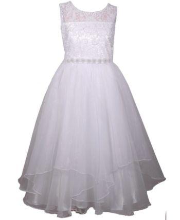 5f6f1f2216685 Bonnie Jean Organza Petal Communion Dress in 2019   Products   Kids ...