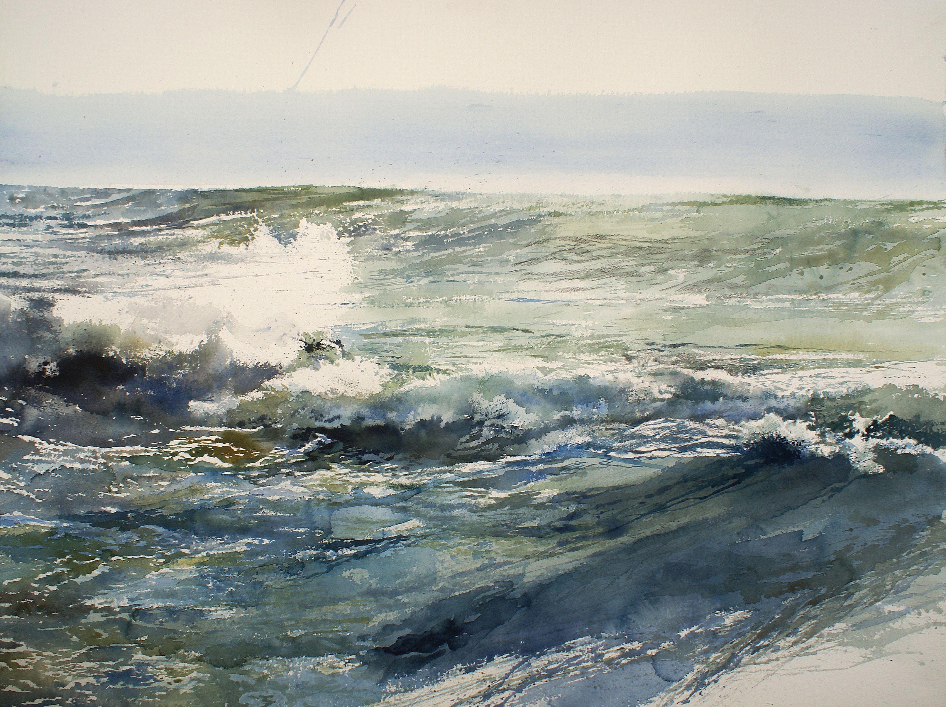 woelige noordzee mer du nord houleuse paintings other seascapes pinterest sea waves. Black Bedroom Furniture Sets. Home Design Ideas