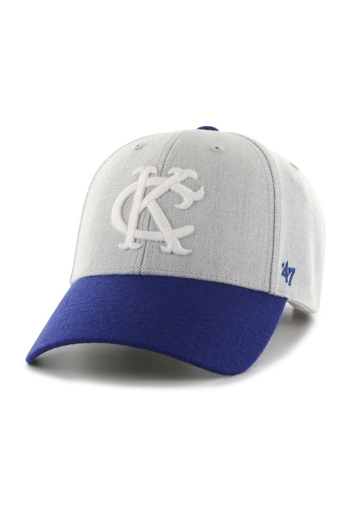 '47 Brand Kansas City Royals Munson Grey/Royal Blue Adjustable Hat