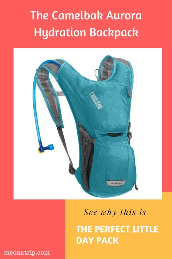 The ideal backpack for 2-4 hour long hikes, or pair it with an inflatable pfd for water sports