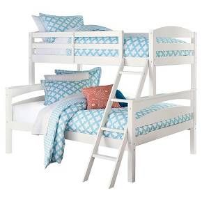 Maddox Bunk Bed Twin Full White Target Girls Rooms In