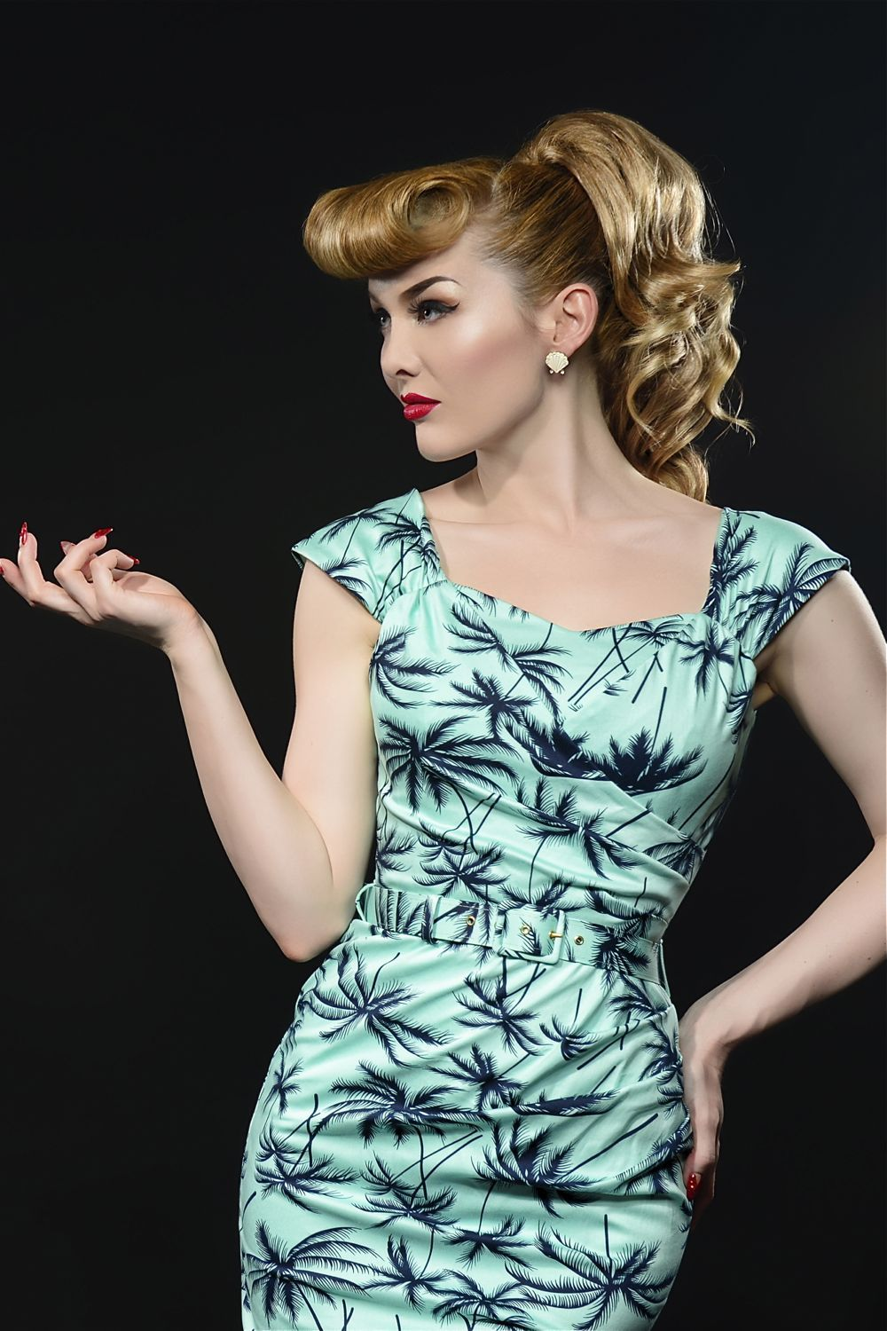 Mint Palm Pencil Dress where have you been all my life The ultimate ...