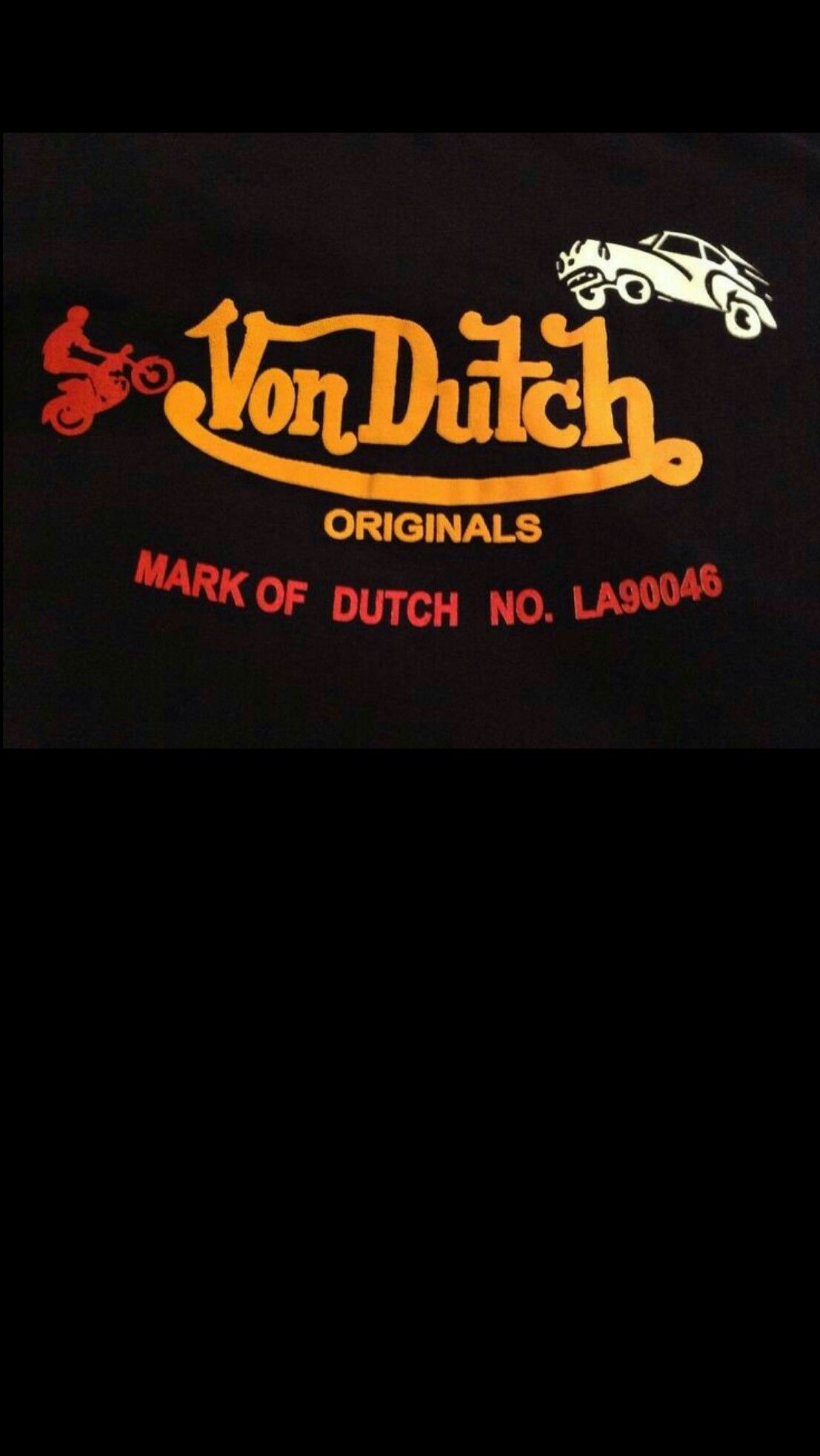 vondutch black wallpaper iphone android