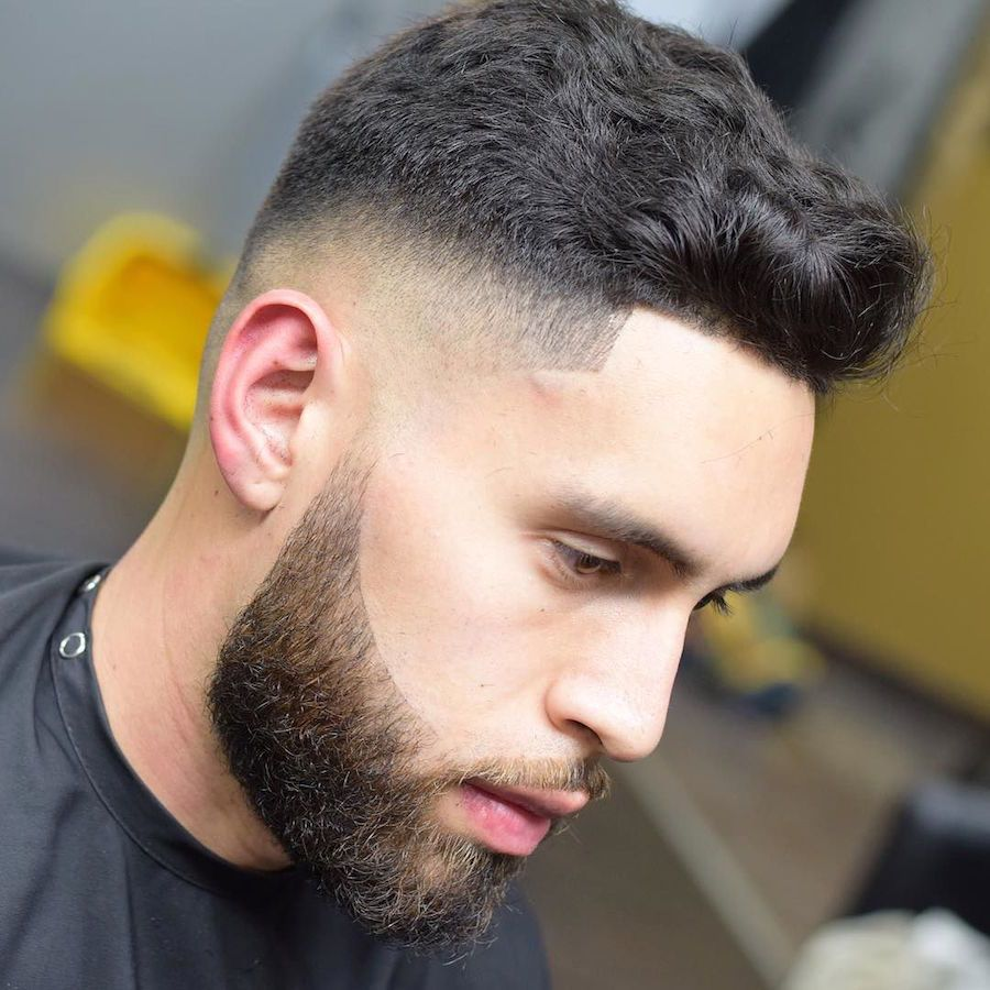 100+ cool short haircuts for men (2018 update)   mid fade, short