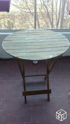 Table de jardin en bois Ameublement Bouches-du-Rhône - leboncoin.fr ...