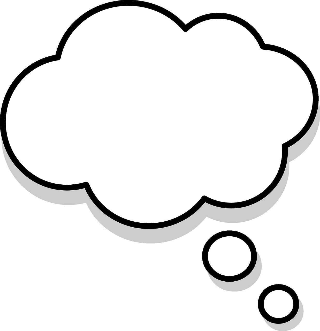 Free Image On Pixabay Thinking Thought Bubbles Thought Bubbles Bubble Tattoo Thought Balloons