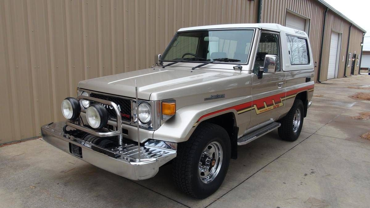 Hemmings Find Of The Day 1988 Toyota Land Cruiser Hemmings Daily Land Cruiser Toyota Land Cruiser Toyota