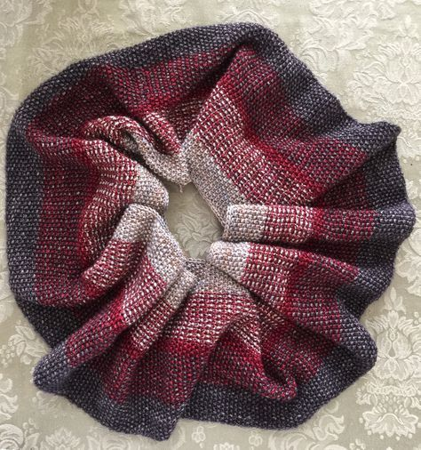 Free Knitting Pattern For Easy Nightfall Infinity Scarf Cowl The