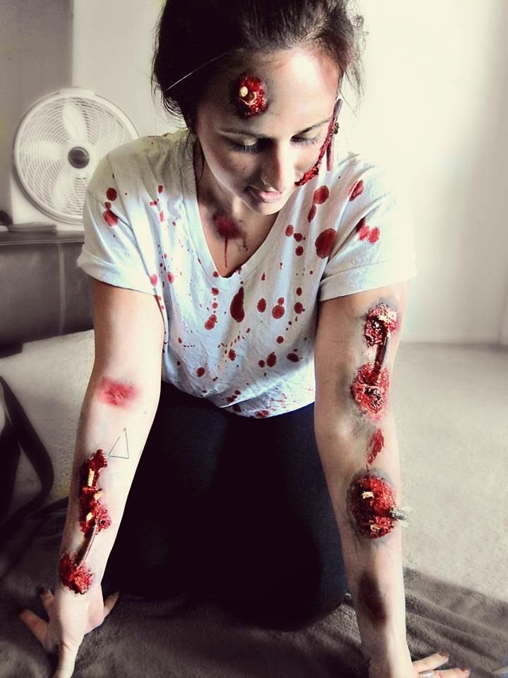 Rotting corpse infected with bugs   Special Effects   spfx ...