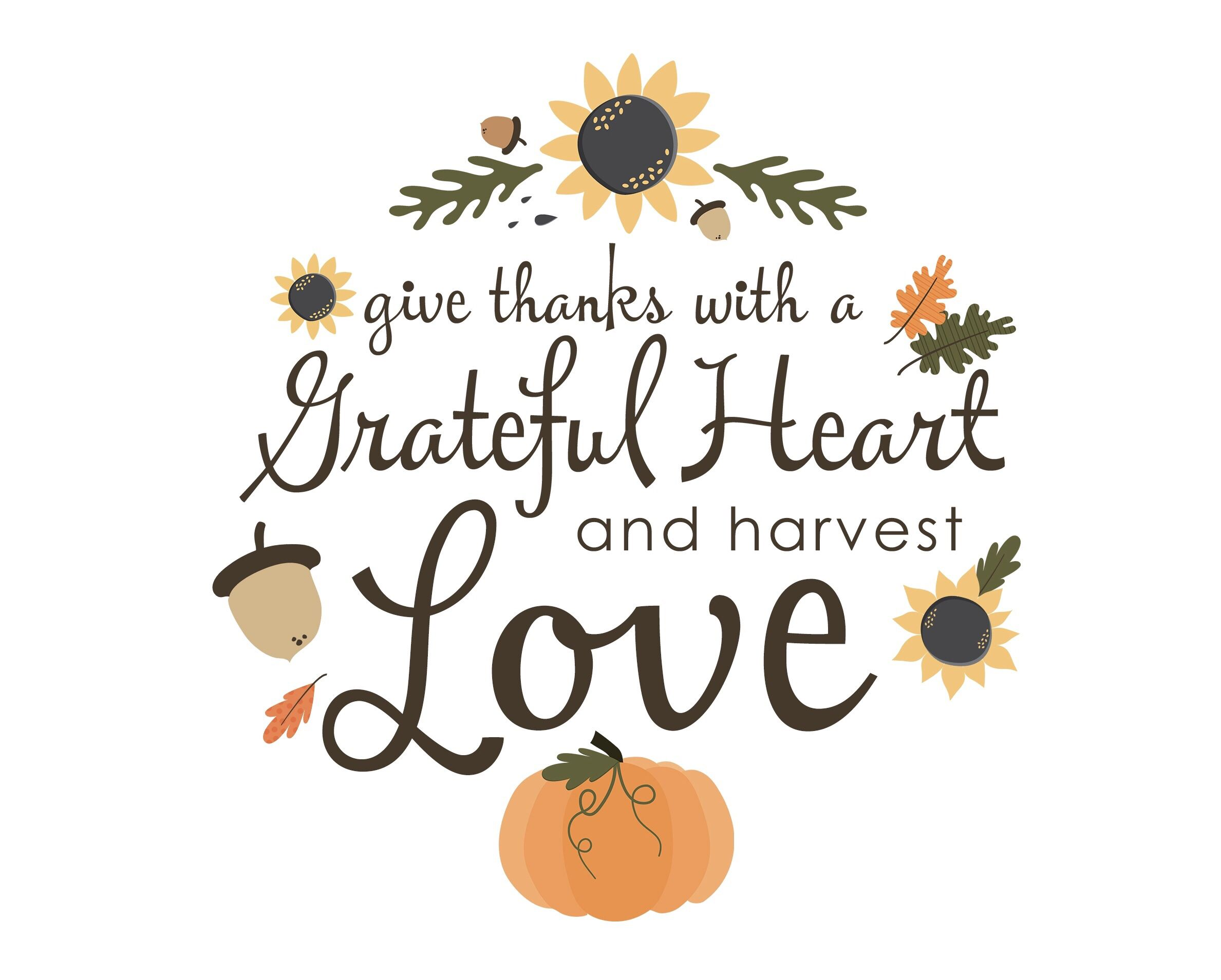 HAPPY THANKSGIVING!! Be thankful, be grateful, get