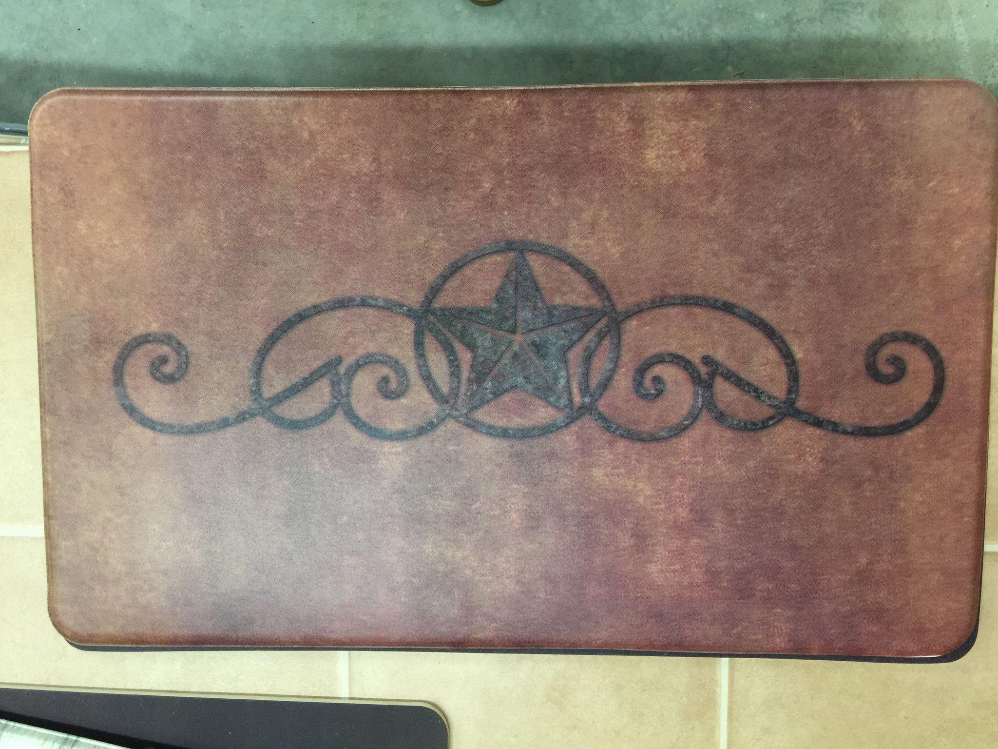 Rug kitchen sink mat western star
