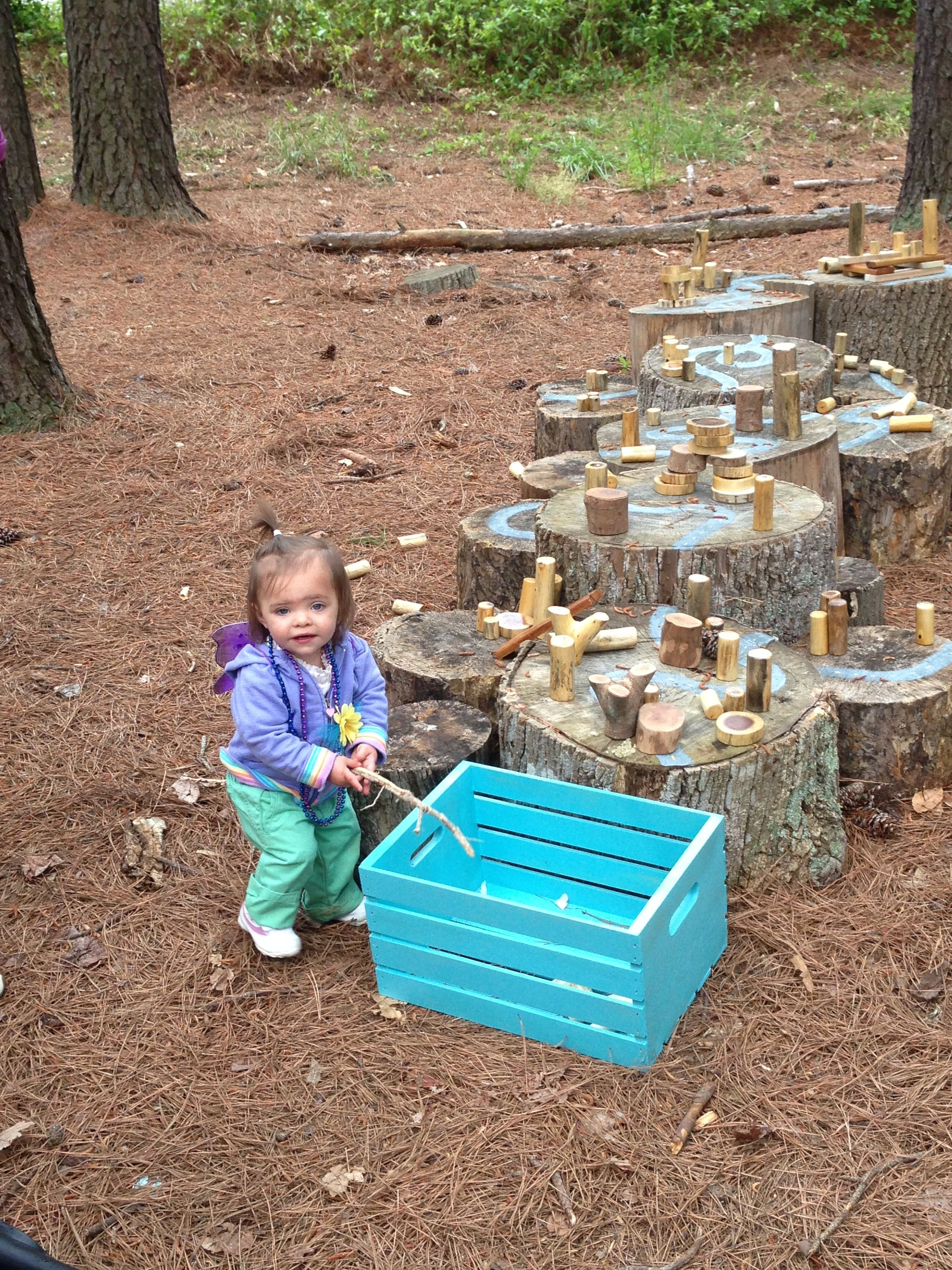 building/stacking/balancing zone. Even the smallest fairies enjoy ...