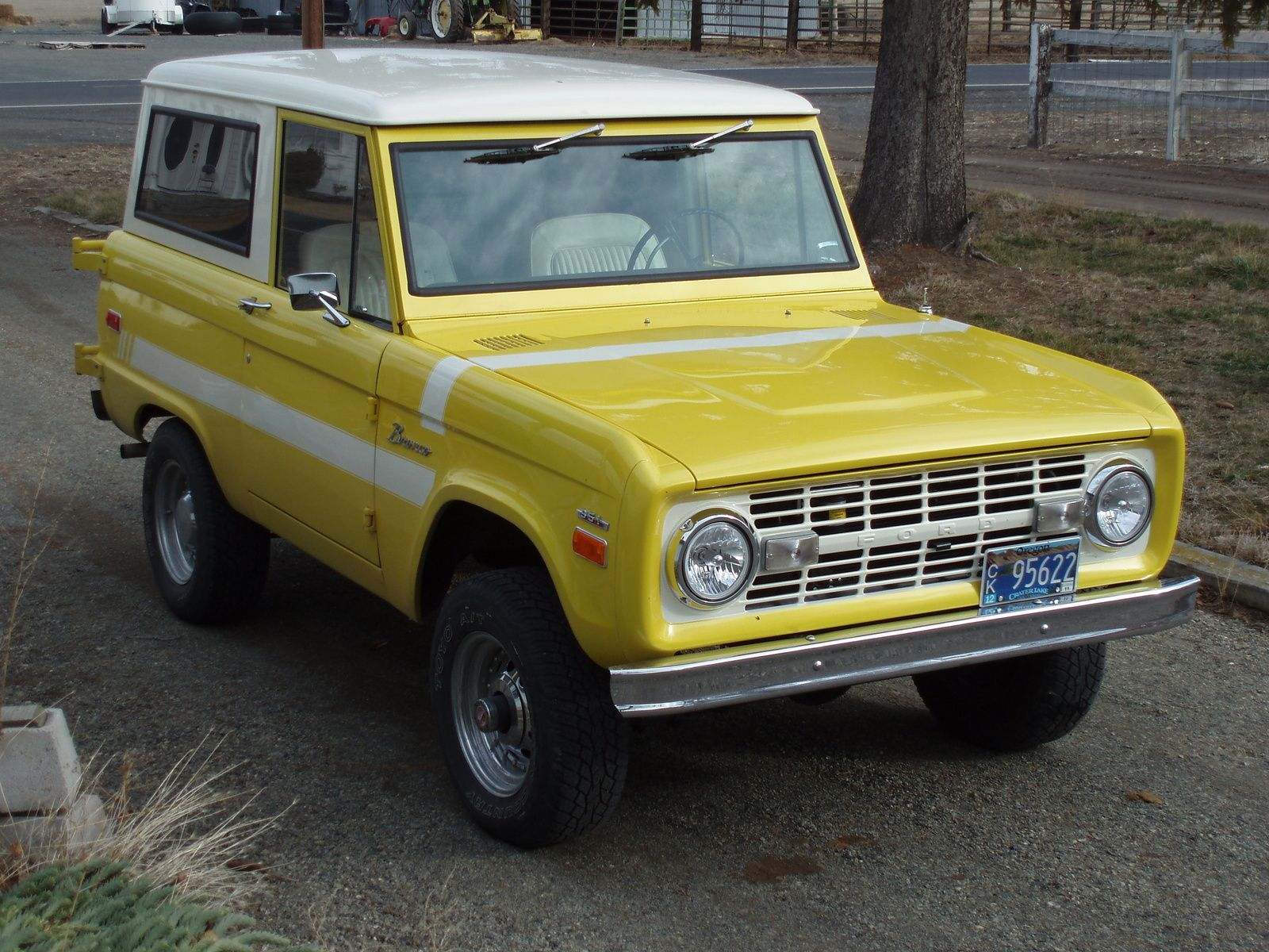 1970_ford_bronco Ford introduced the Bronco as its first SUV in 1966 ...