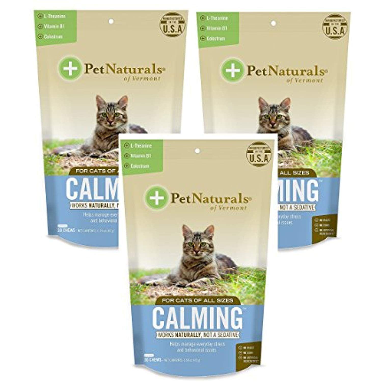 pet naturals calming for cats