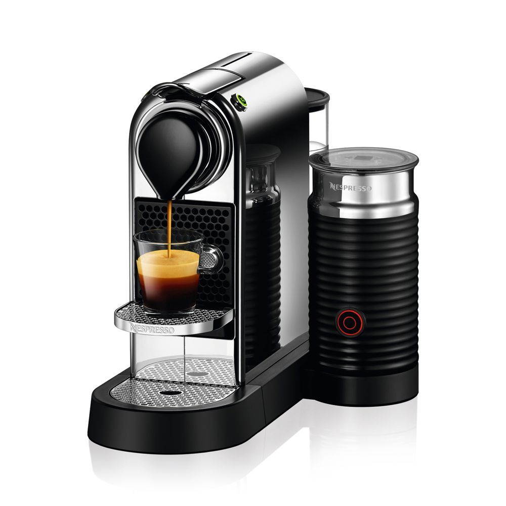 Enjoy the perfect cup of espresso and lungo with Nespresso