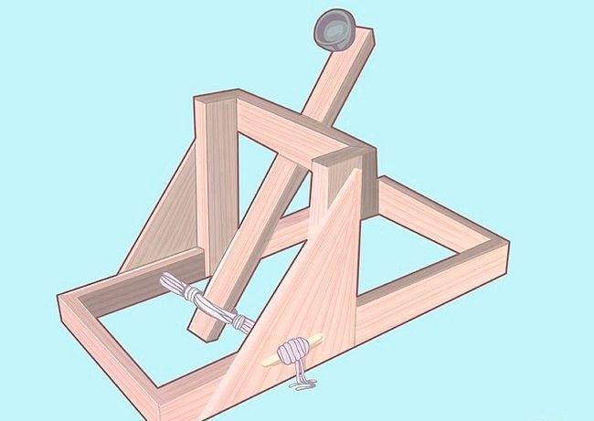 Tutorial (en Français) sur la fabrication d'une catapulte