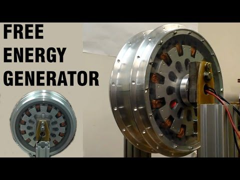 Free Energy Magnet Motor ( free electricity, no water energy