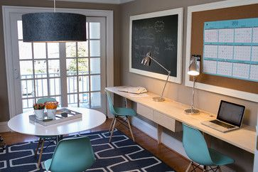 lovely home office setup click. Like The Desk - Reichelt Family Office Contemporary Home Dc Metro Residents Understood Lovely Setup Click