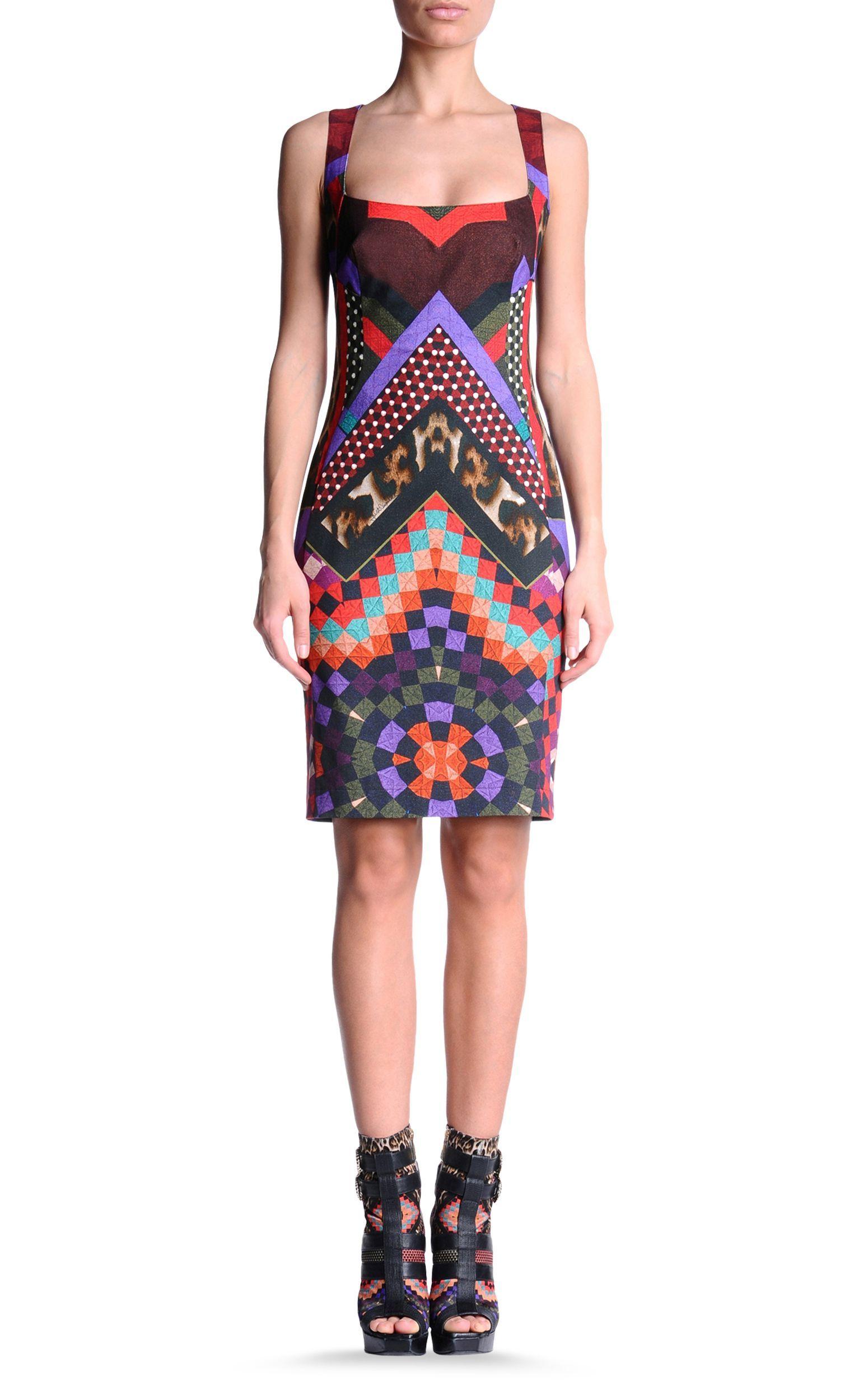 new style 987b4 221ca Short dress Women - Dresses Women on Just Cavalli Online ...