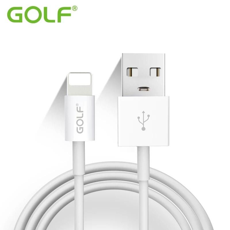 100% Original GOLF 100cm 8-Pin USB Data Sync Charge Cable For iPhone ...