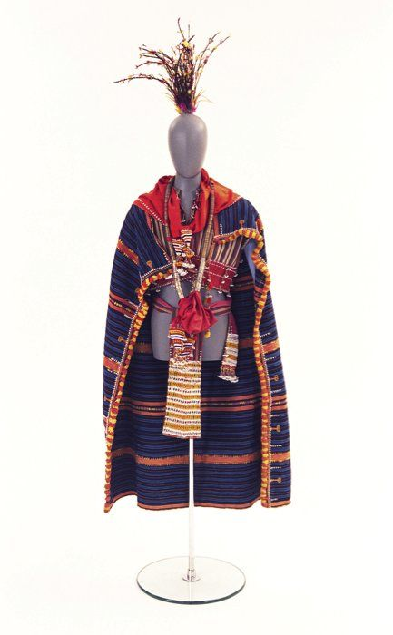 Folk costume, Luzon Island, the Philippines, end 19th