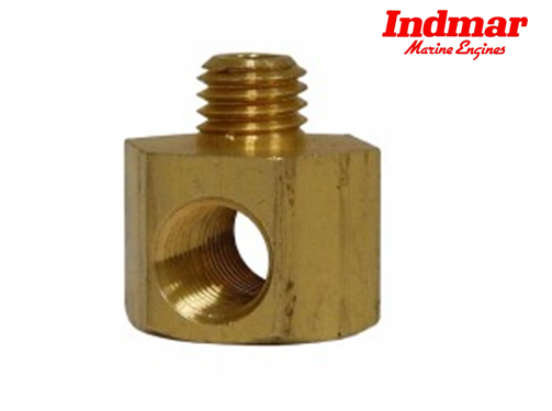 Indmar Chevy Standard Thread Oil Pan Drain Fitting Used For Connecting A Oil Drain Hose To The Bottom Of The Oil Pan To Make Changing Th Oil Pan Oils Fittings