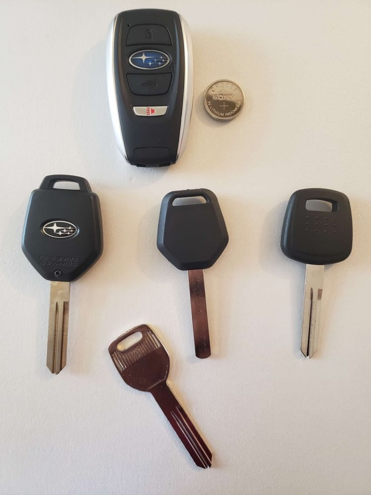 Subaru Keys Replacement In 2020 Key Replacement Car Key