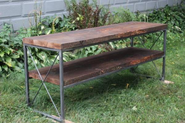 custom steel / wood furniture fabrication MA Wood
