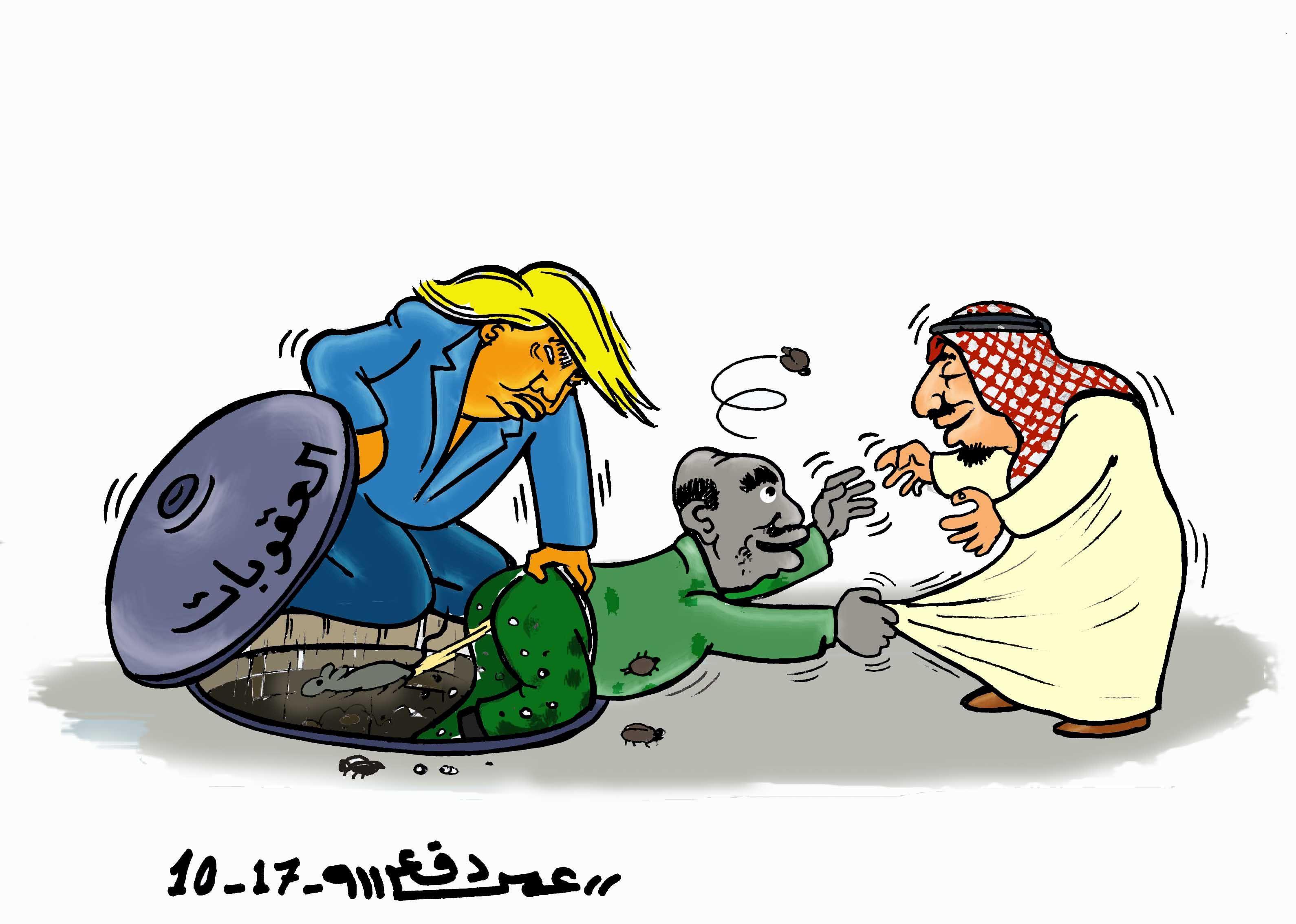 كاركاتير اليوم الموافق 07 أكتوبر 2017 للفنان عمر دفع الله