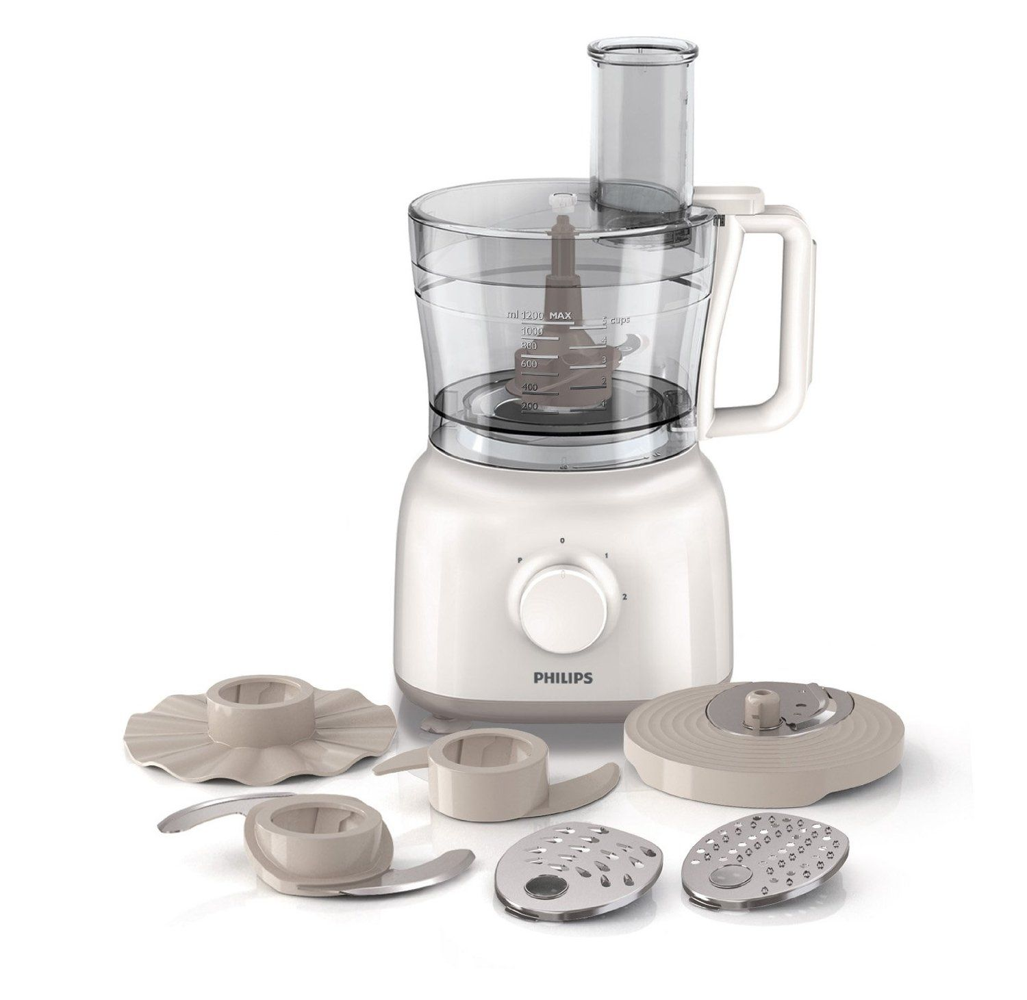 Philips HR7627/01 Daily Collection Food Processor, 1.5 Litre, 650 ...