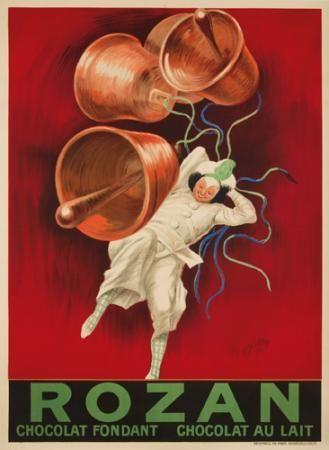 Chocolat Rozan. 1920  LEONETTO CAPPIELLO (1875-1942)