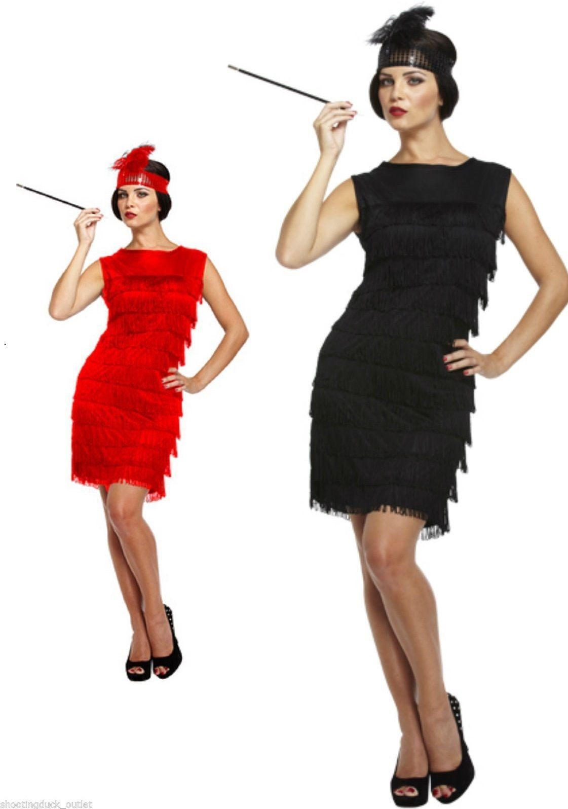 Black flapper dress s fringe flapper charleston cocktail gatsby