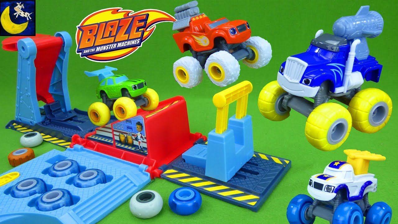 Blaze And The Monster Machines Toys Crusher Tune Jump Garage