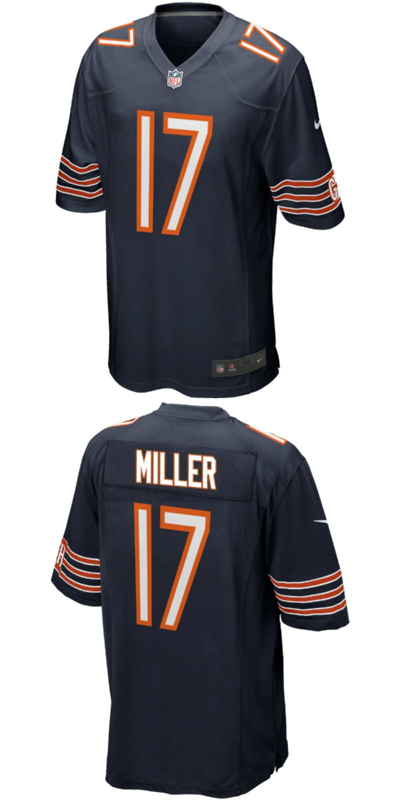 new products 6053a 79783 UP TO 70% OFF. Anthony Miller Chicago Bears Nike 2018 NFL ...