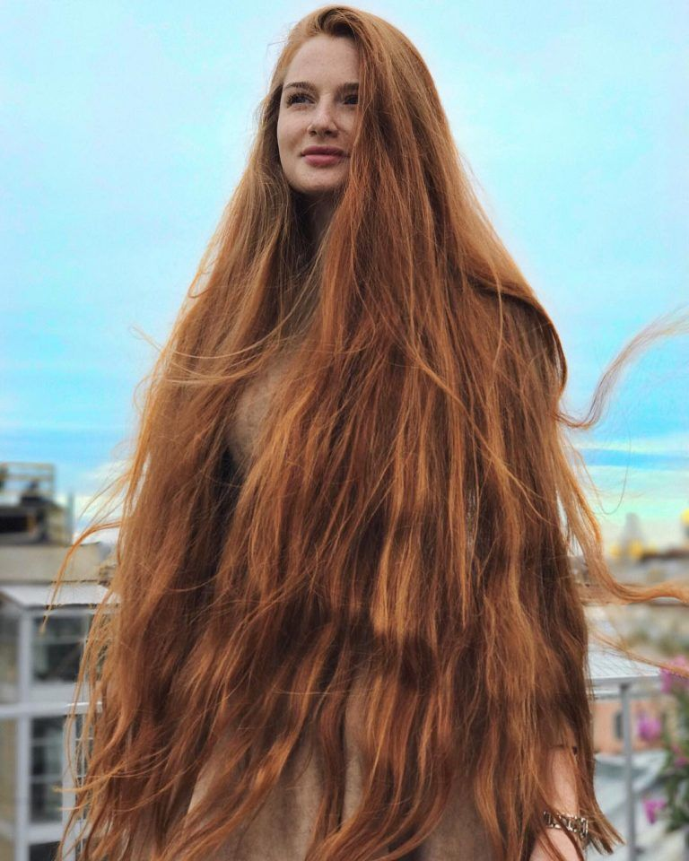 Russian Woman Who Suffered From Alopecia Now Has Beautiful Long Hair Long Hair Styles Long Hair Women Hair Styles