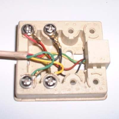 How To Wire A Telephone Jack Telephone Jack Phone Jack Diy Repair