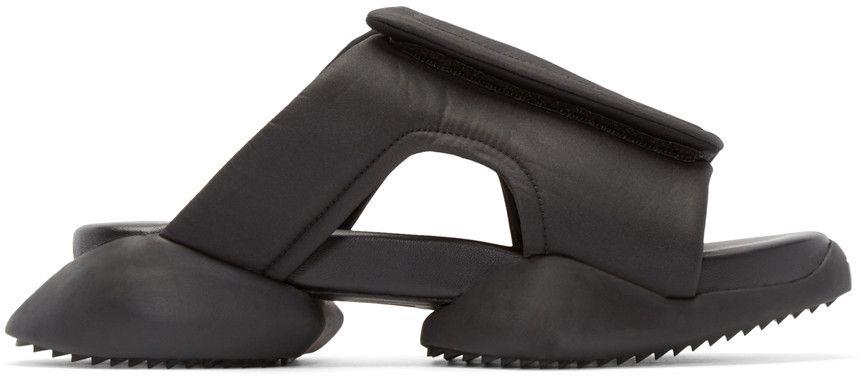 Black adidas by Rick Owens Clog Sandals