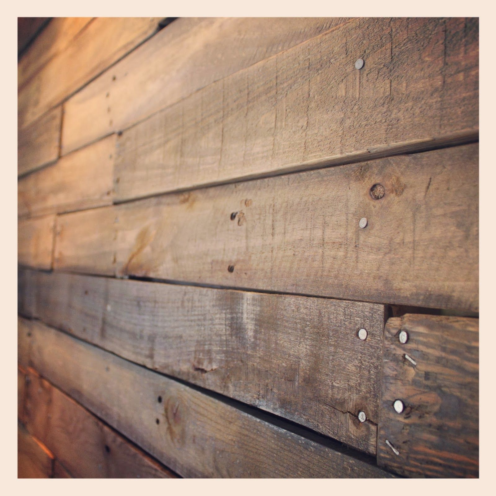 Pallet Wall Household Decor