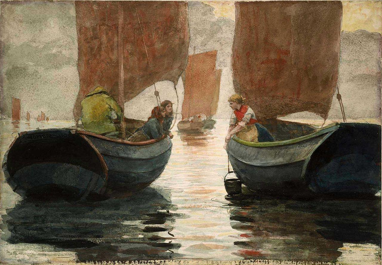 Winslow Homer - An Afterglow.jpg