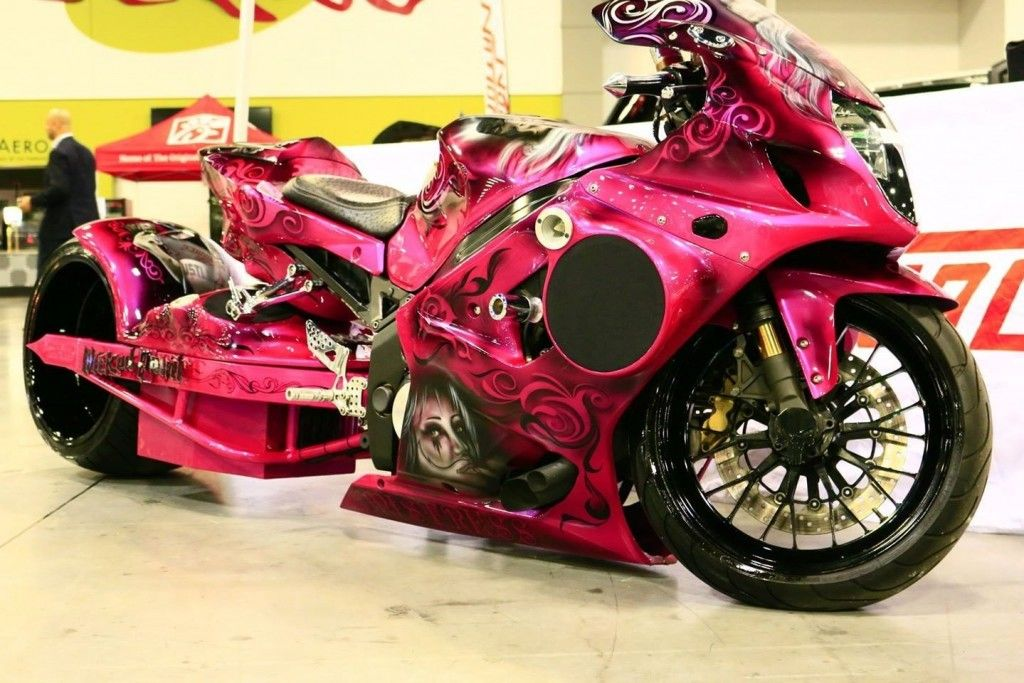 2004 Susuki GSXR 1000 Turbo 360 Fat Tire Show Bike