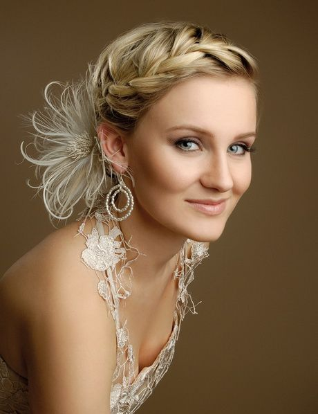 Brautfrisuren Mittellanges Haar Great Hair Pinterest Braided