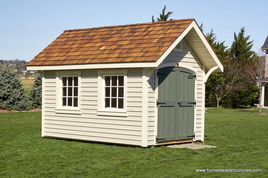 8x12 Premier Garden Shed With Clapboard Siding Garden Shed Shed Clapboard