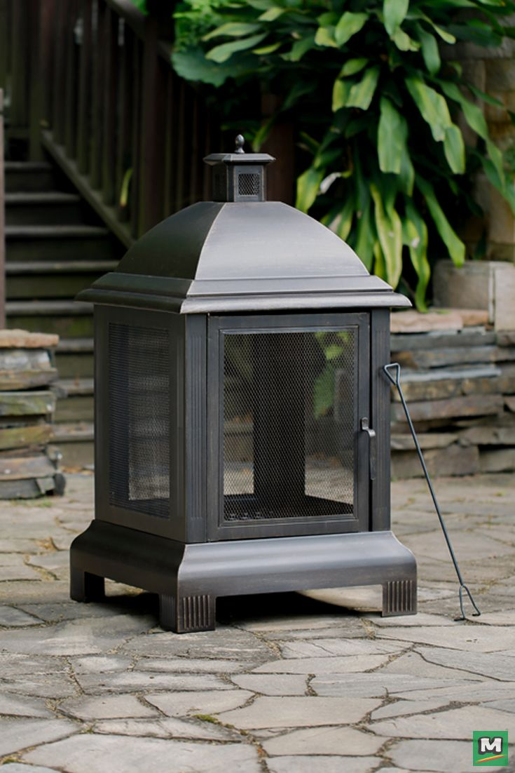 Gas Fireplace Embers Menards Captivate Family And Friends With This Backyard Creations 24