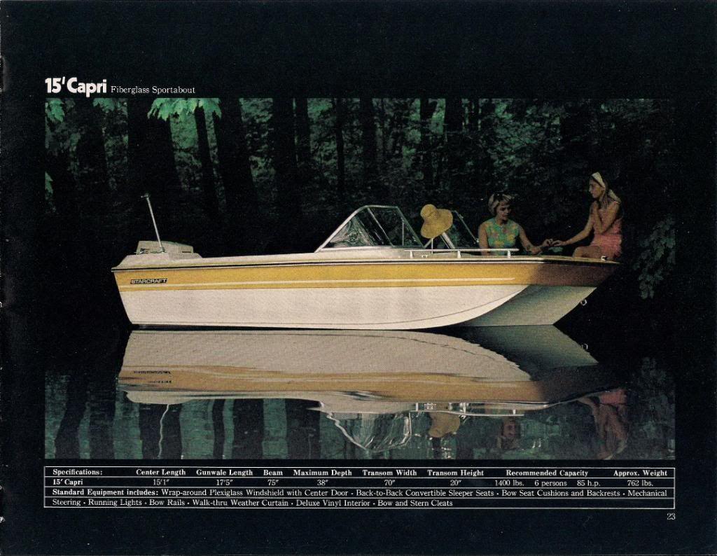 My 1972 Starcraft Capri Page 1 Iboats Boating Forums 405220 Boat Starcraft Capri