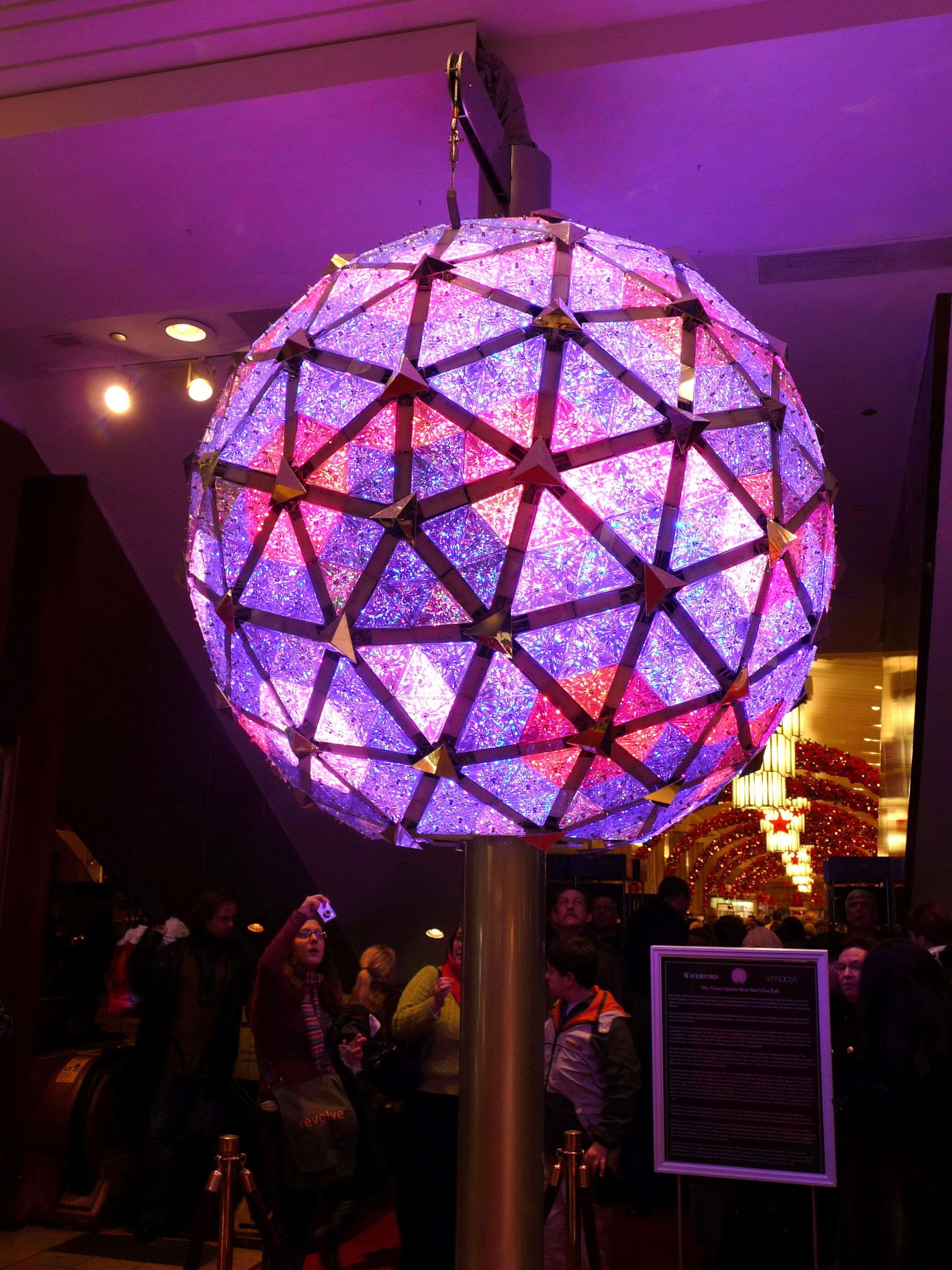 Times Square Ball Wikipedia The Free Encyclopedia New Years