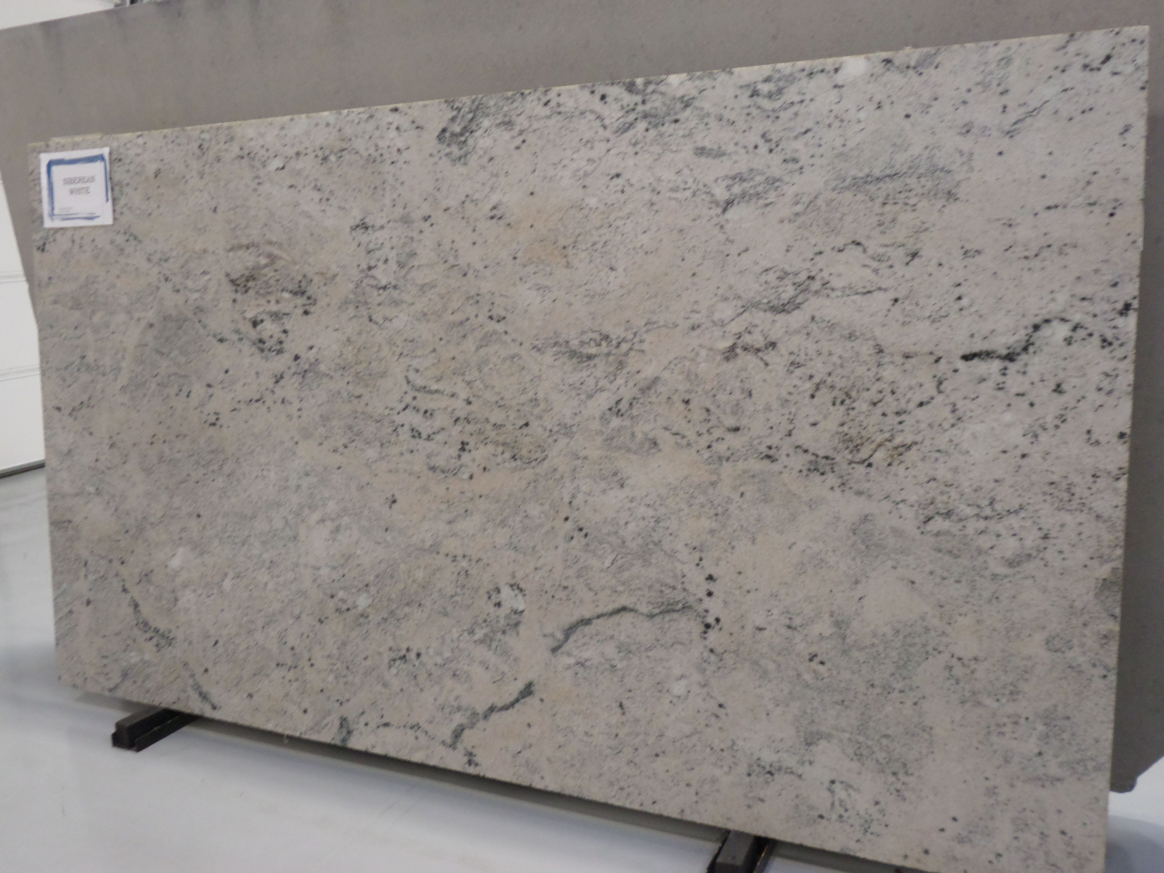 Siberian White Granite Slab With