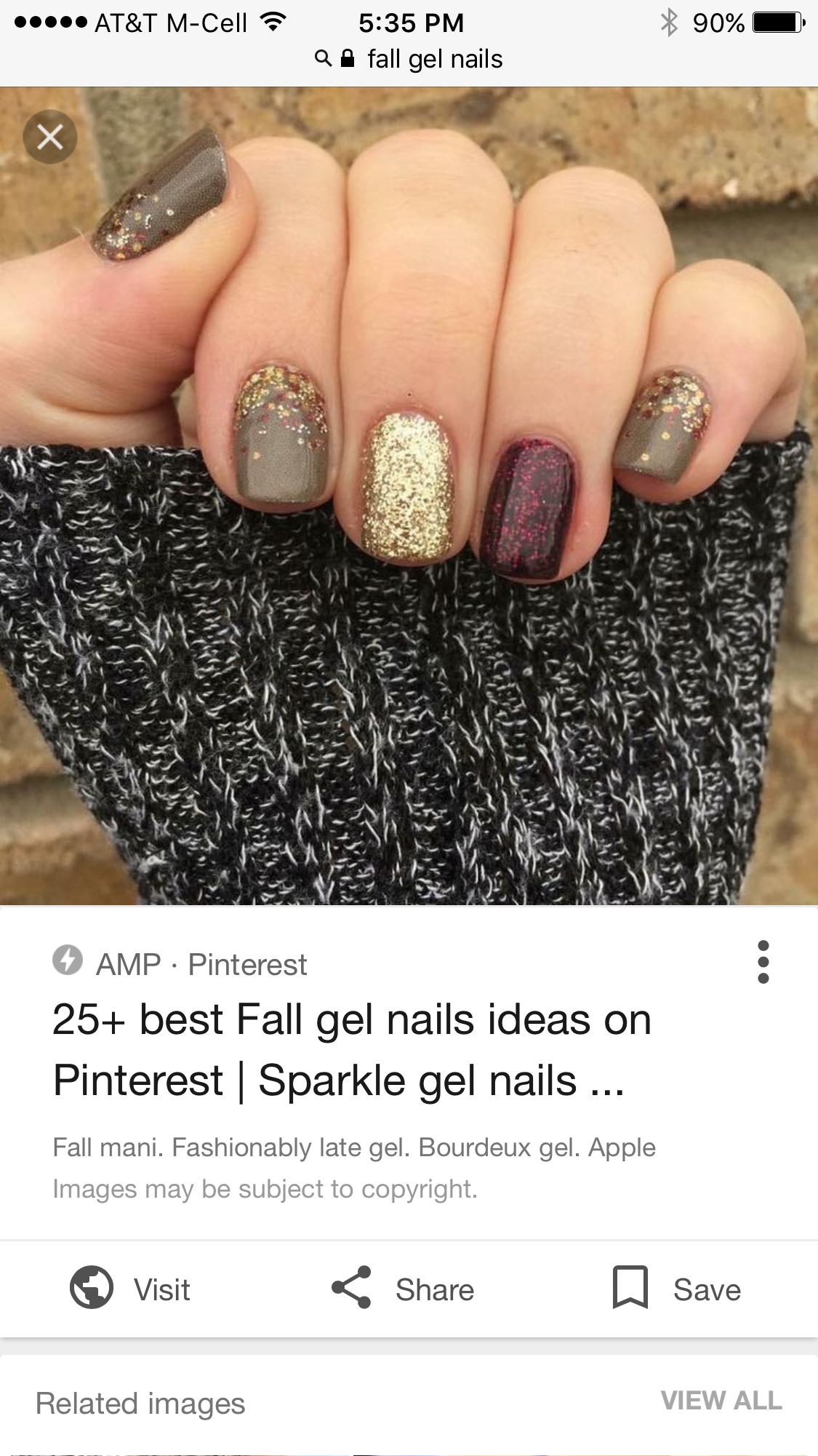 Pin by Ashley Zawila on nails | Pinterest | Makeup, Nail nail and ...