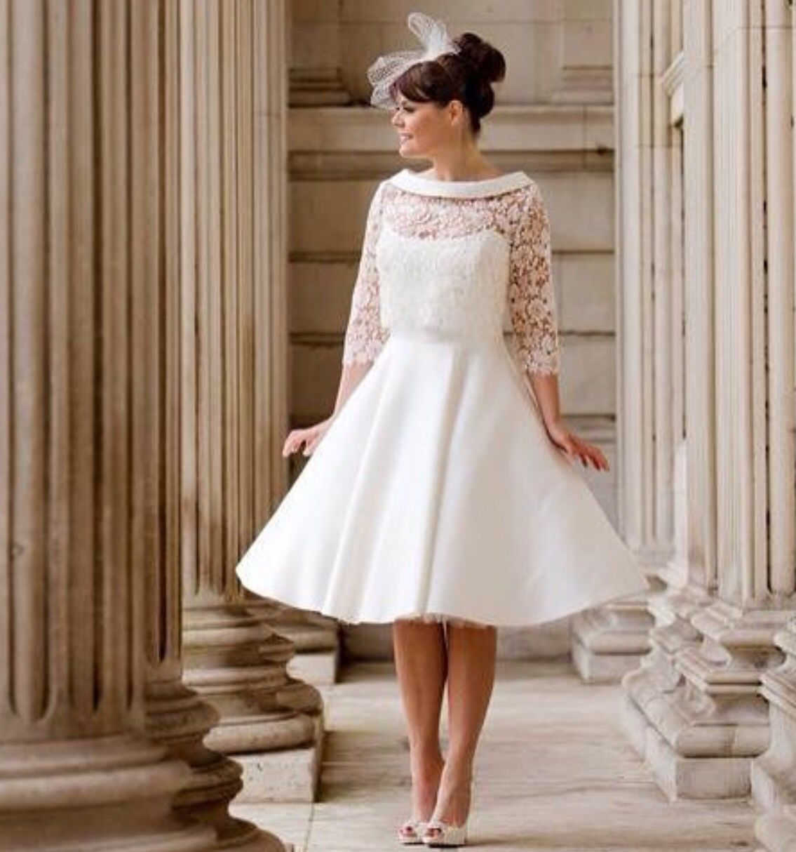 Blue bridalwear mabel and ava is a fabulous tealength us style